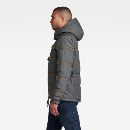 Aanbieding G-Star RAW - Attac Tape Quilted Padded Jack - Grijs - Heren - 8719772248139